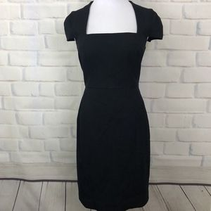 Banana Republic Black Sheath Stretch dress 8